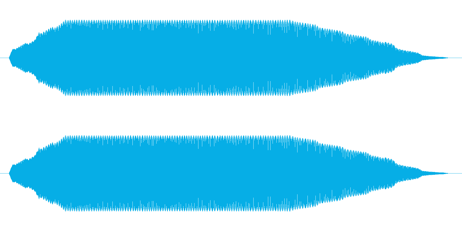 ヒューン【飛ぶ、落ちる】の再生済みの波形