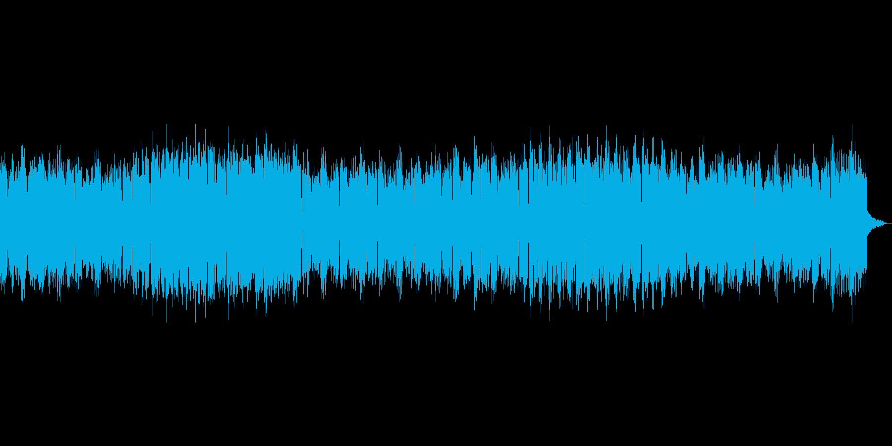 友達を励ますイメージのアコーディオンの再生済みの波形