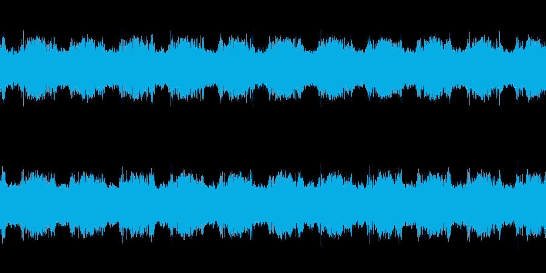 ギュイーン(必殺技を打ち込む音)の再生済みの波形