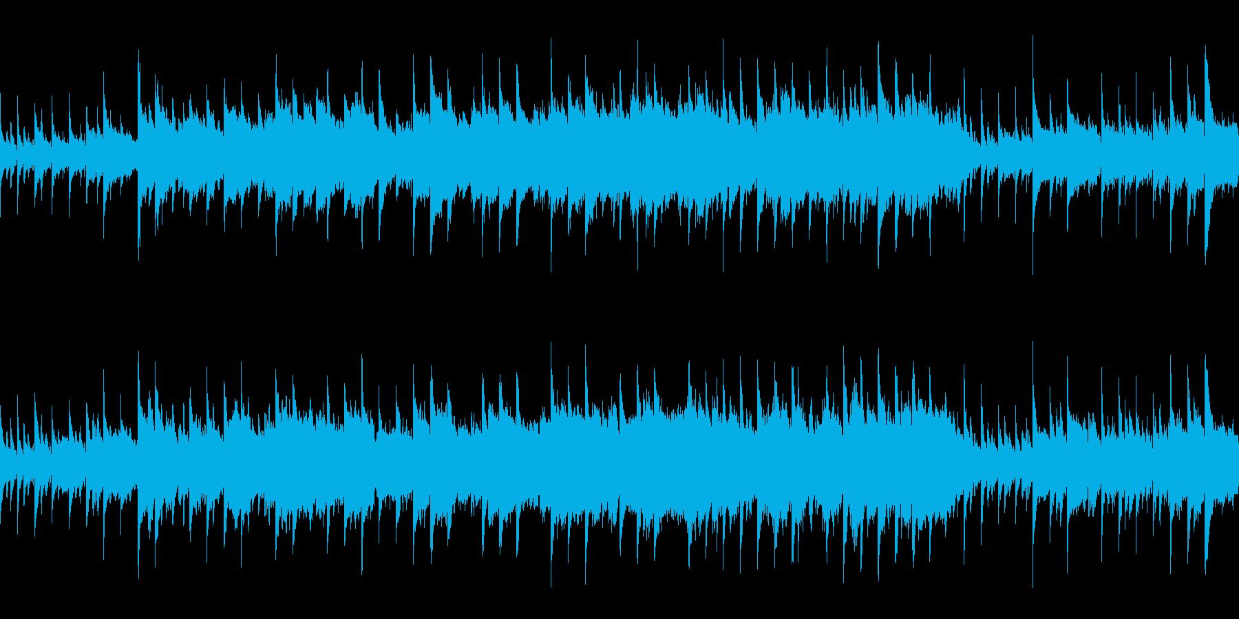 幻想的でもの悲しげな曲 (ループ仕様)の再生済みの波形