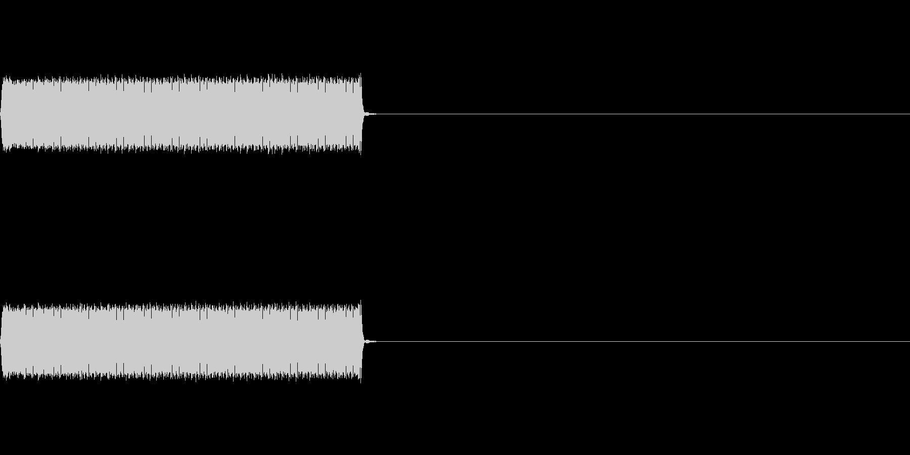 【不正解01-2】の未再生の波形