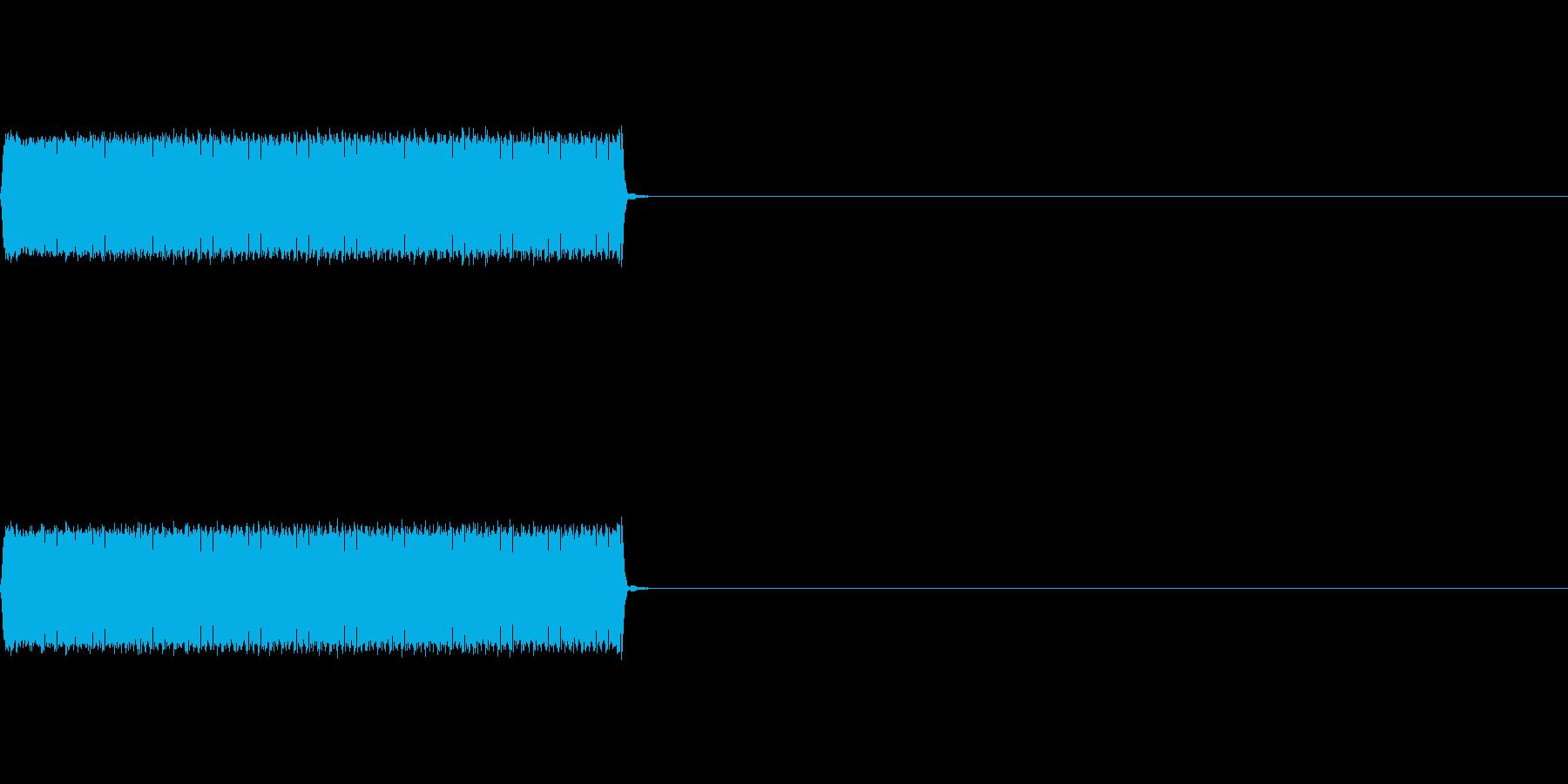 【不正解01-2】の再生済みの波形