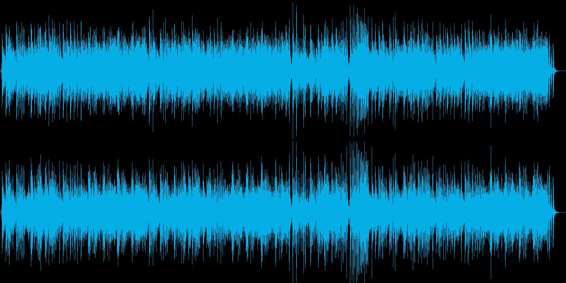 お正月 和風 JAZZピアノトリオ 冬の再生済みの波形