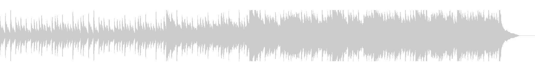 絶望/失望/苦痛:ピアノアンビエントの未再生の波形