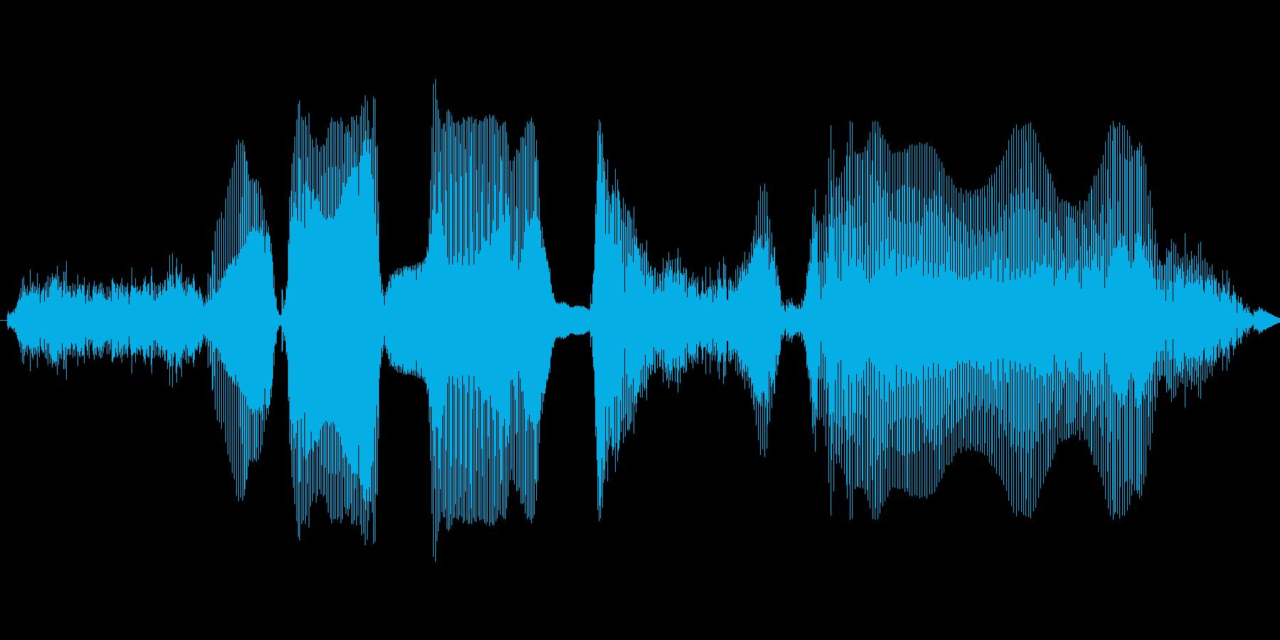 シラナイデスヨの再生済みの波形