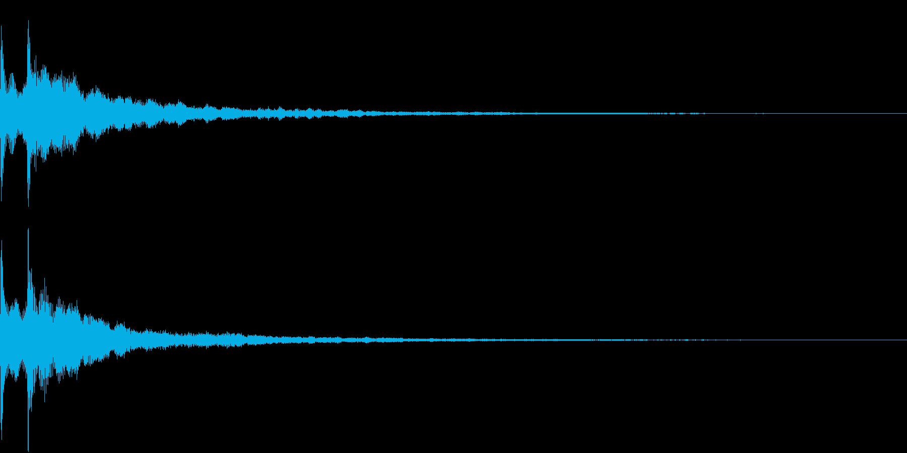 Game ランクアップ 成功 決定 SEの再生済みの波形