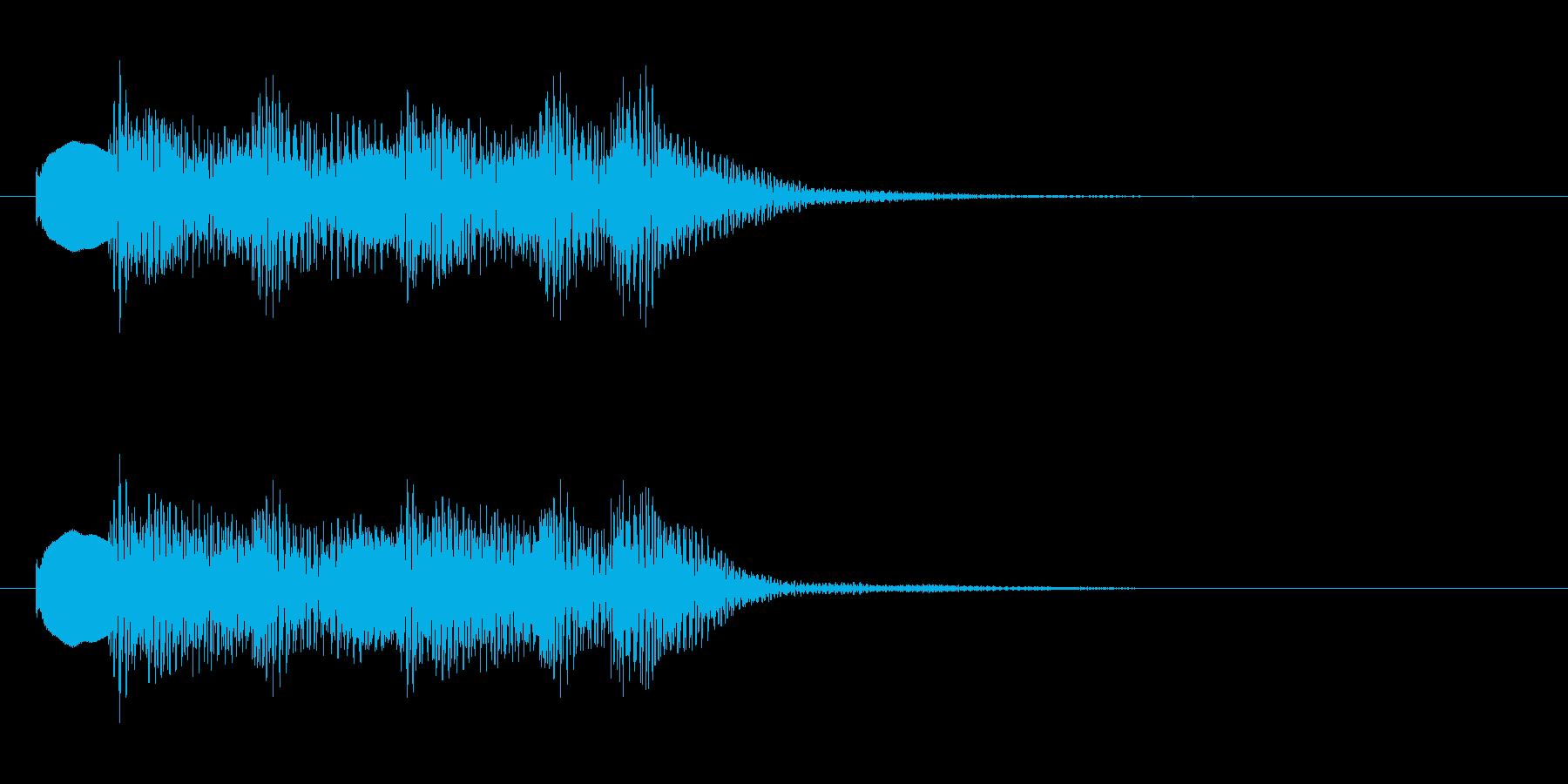 マリンバ おとぼけ(ジングル、転換音)の再生済みの波形