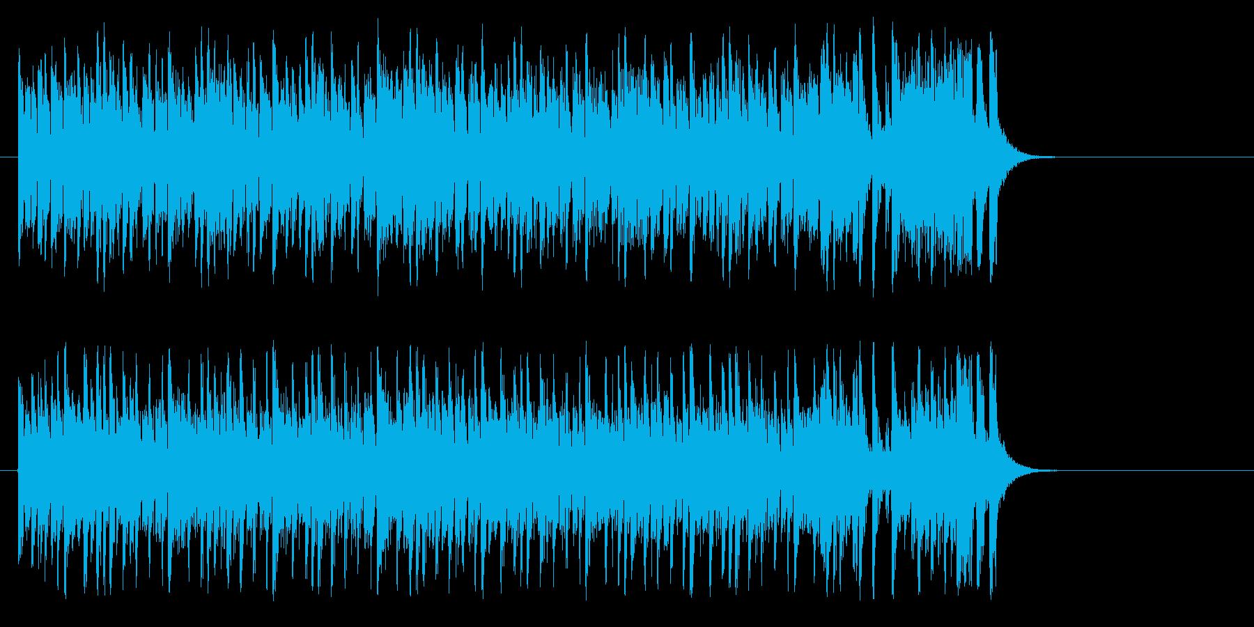 夢へと駆け出すポップ(イントロ~エンド)の再生済みの波形