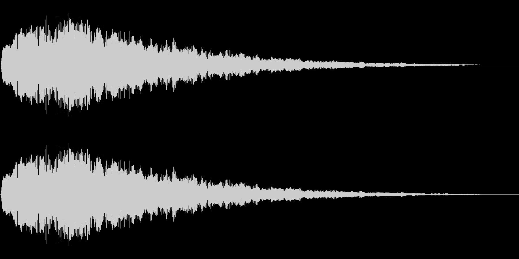 キラキラ(絵本/綺麗/場面転換)の未再生の波形