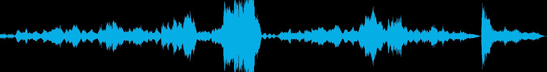 タイスの瞑想曲 マスネの再生済みの波形