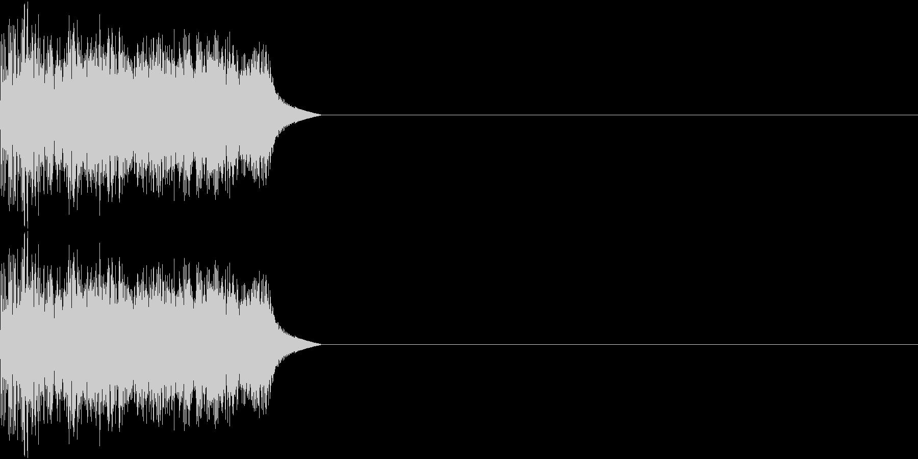 8ビット ファミコン アップ ゲージ3の未再生の波形
