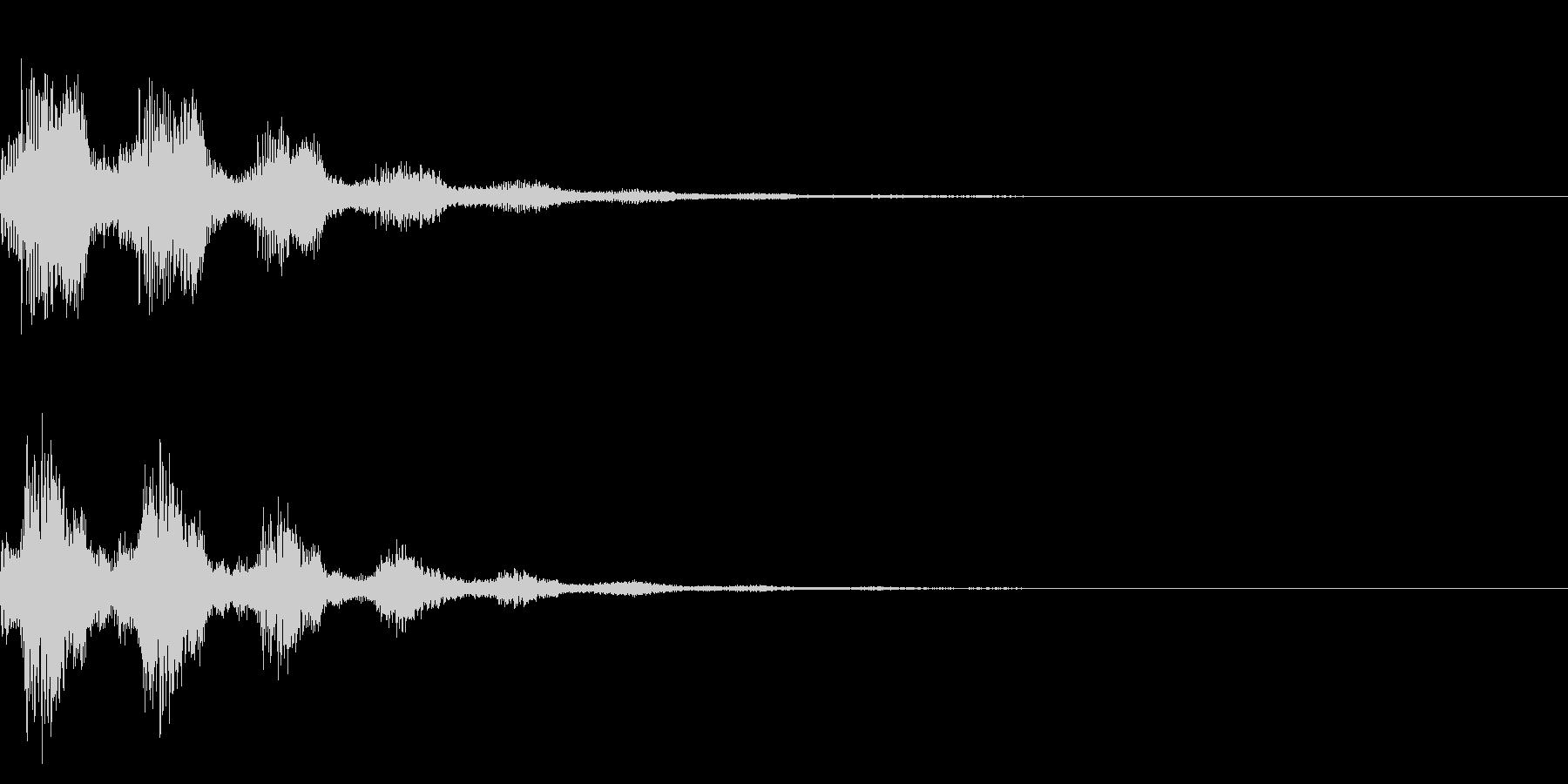 サウンドロゴ42_シンセの未再生の波形