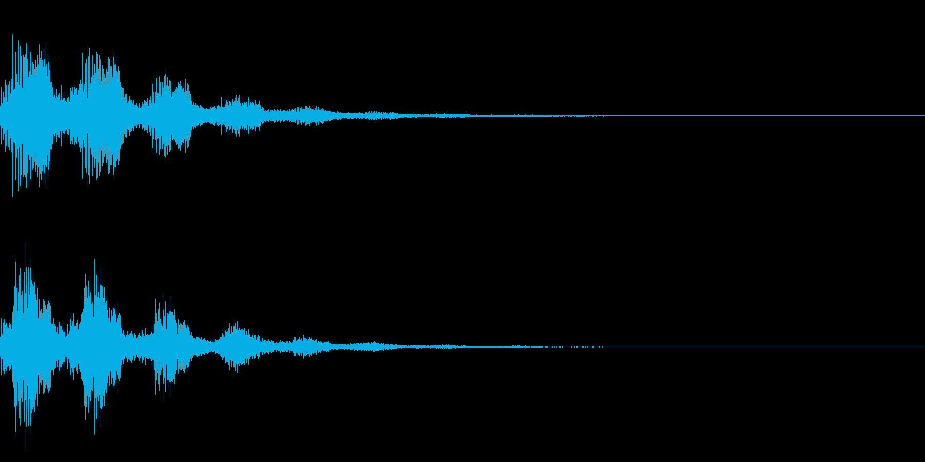 サウンドロゴ42_シンセの再生済みの波形