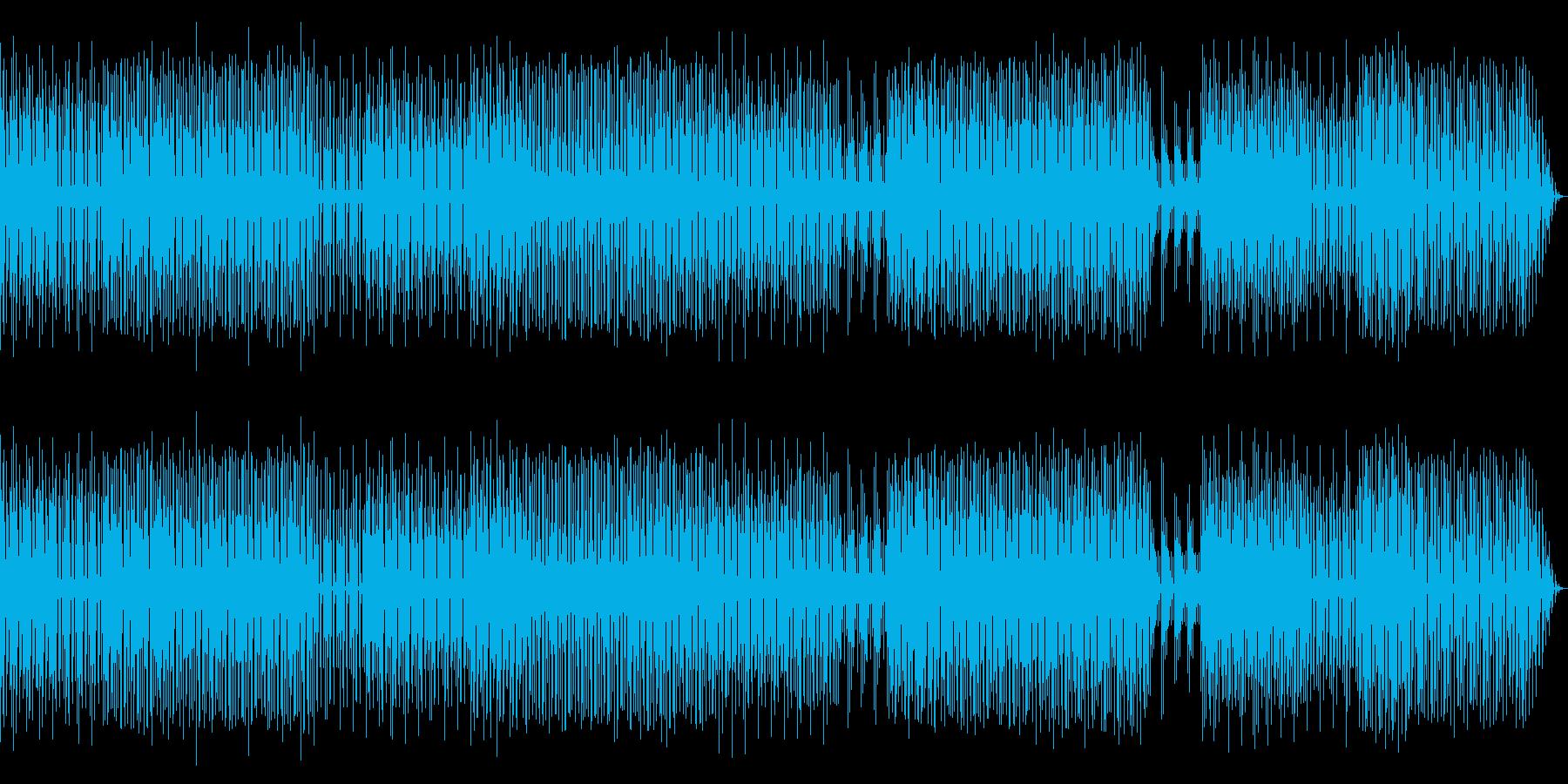 疾走感のあるコミカルワクワクビートですの再生済みの波形