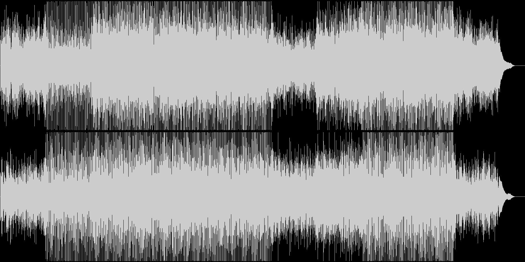 企業VPや映像に 感動的ピアノと四つ打ちの未再生の波形
