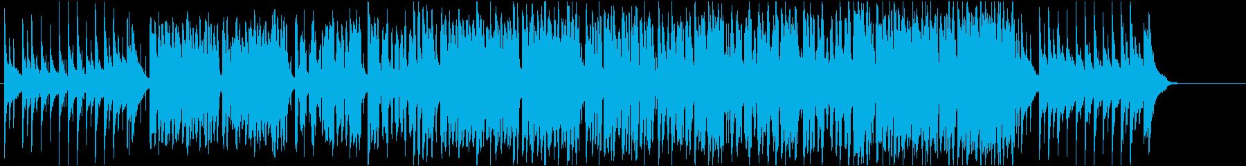 お正月の定番・童謡「お正月」和風ポップでの再生済みの波形