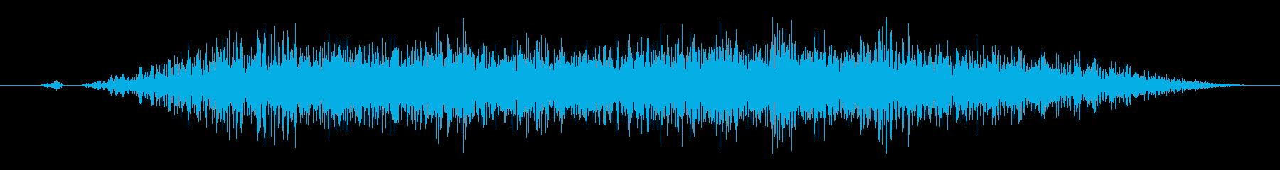 スワイプ、キャンセル、場面転換、閉じる1の再生済みの波形