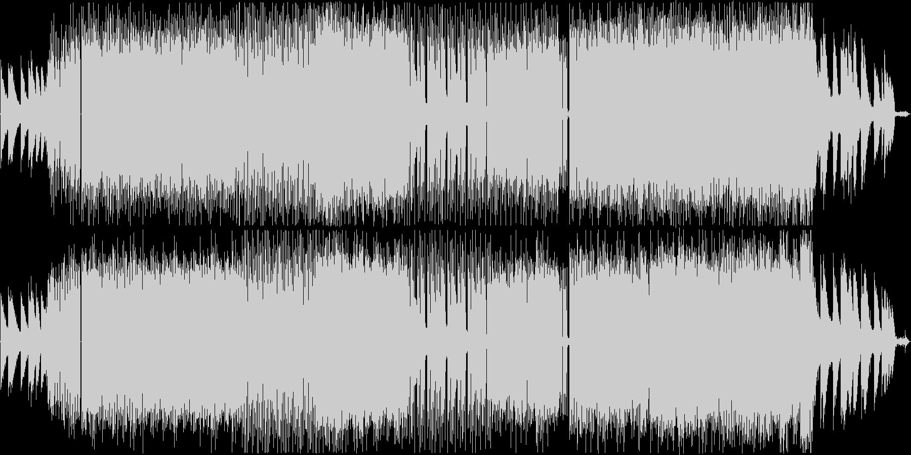 クールでかっこいいローファイヒップホップの未再生の波形