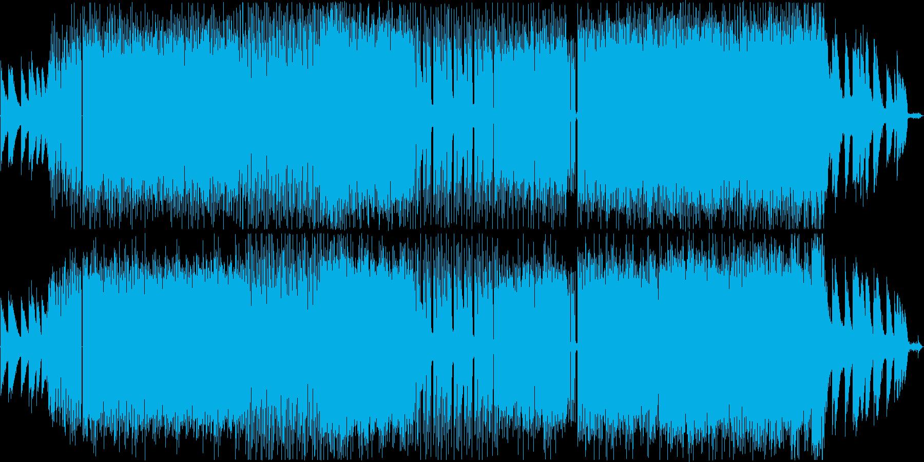 クールでかっこいいローファイHiphopの再生済みの波形