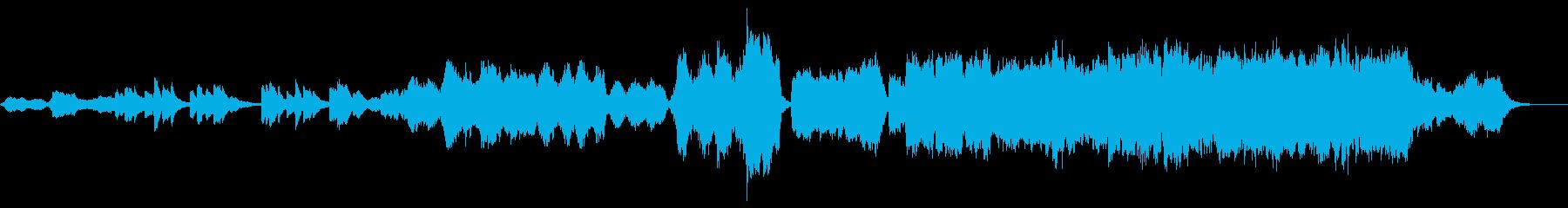 荒城の月 アレンジバージョンの再生済みの波形