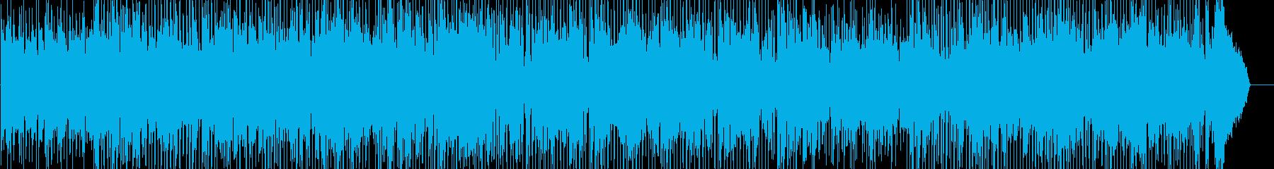 サックスメインのしっとりしたフュージョンの再生済みの波形