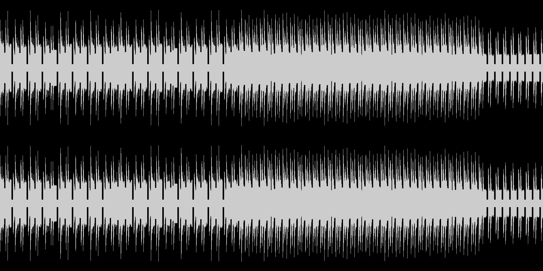気だるい雰囲気のレトロゲーム風バラードの未再生の波形