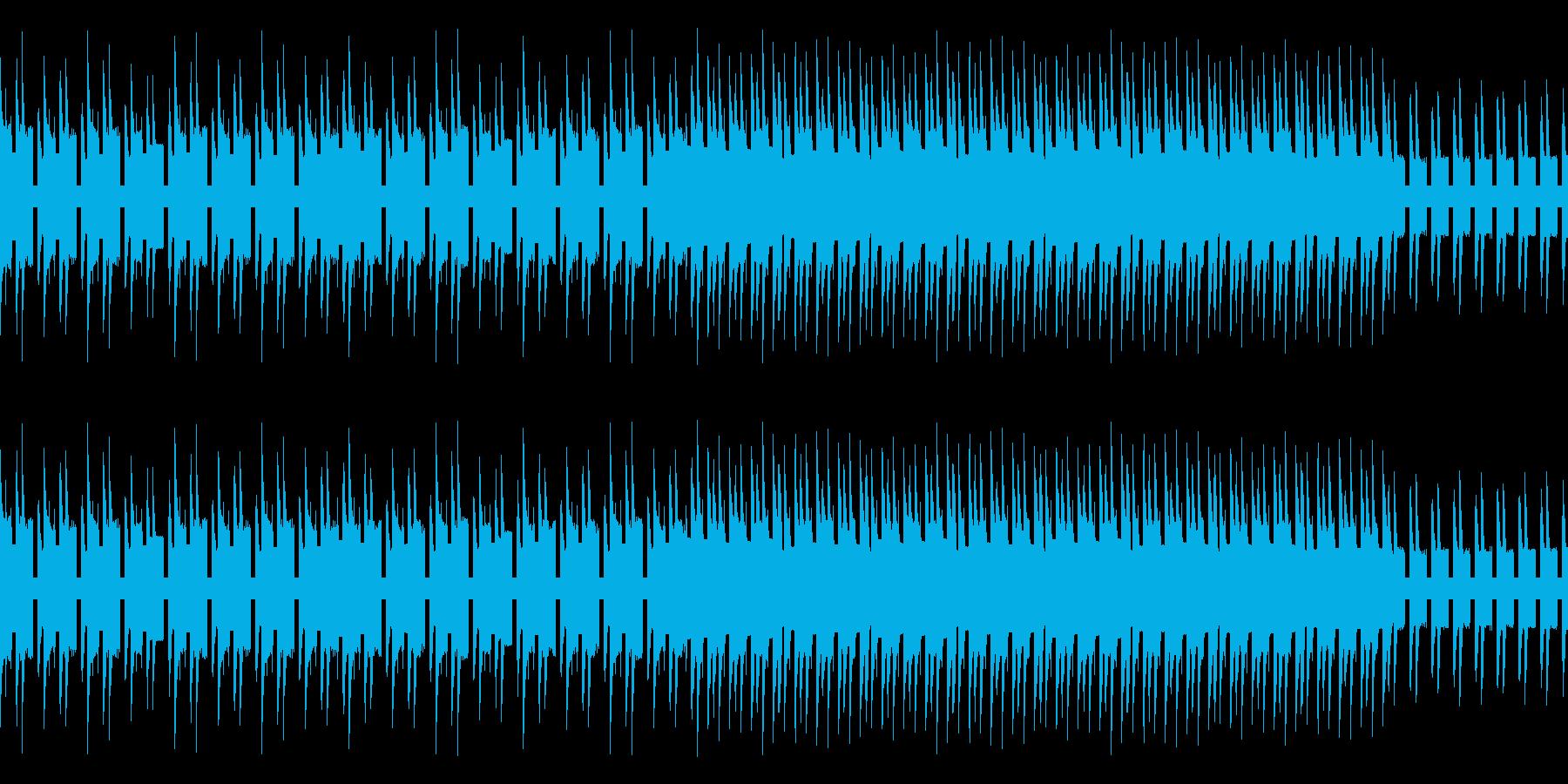 気だるい雰囲気のレトロゲーム風バラードの再生済みの波形