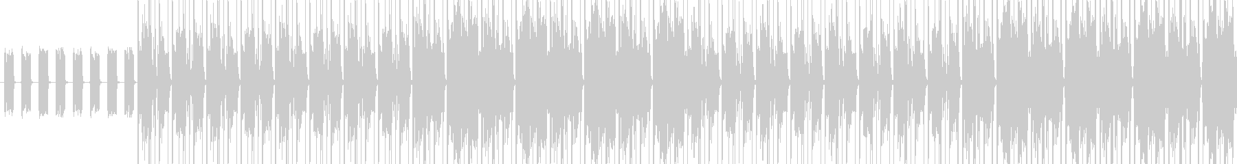 【軽快なアフロビートJAZZ】の未再生の波形