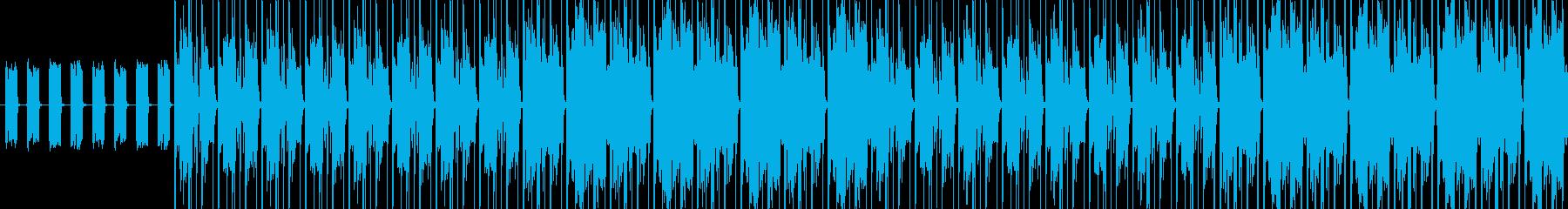 【軽快なアフロビートJAZZ】の再生済みの波形