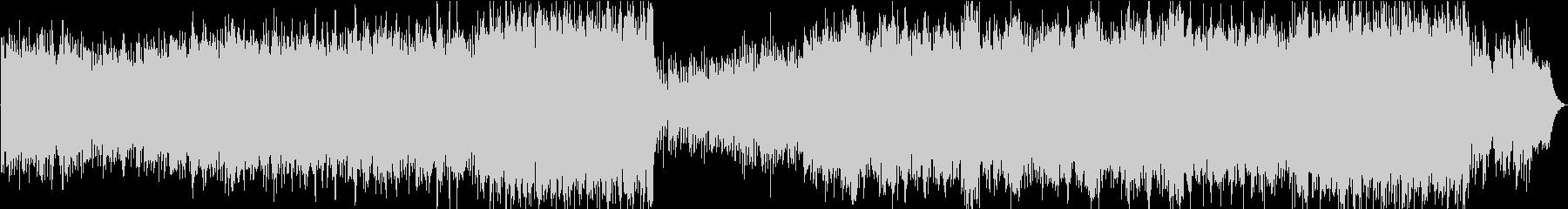 ジブリ風のノスタルジックなマンドリン曲の未再生の波形