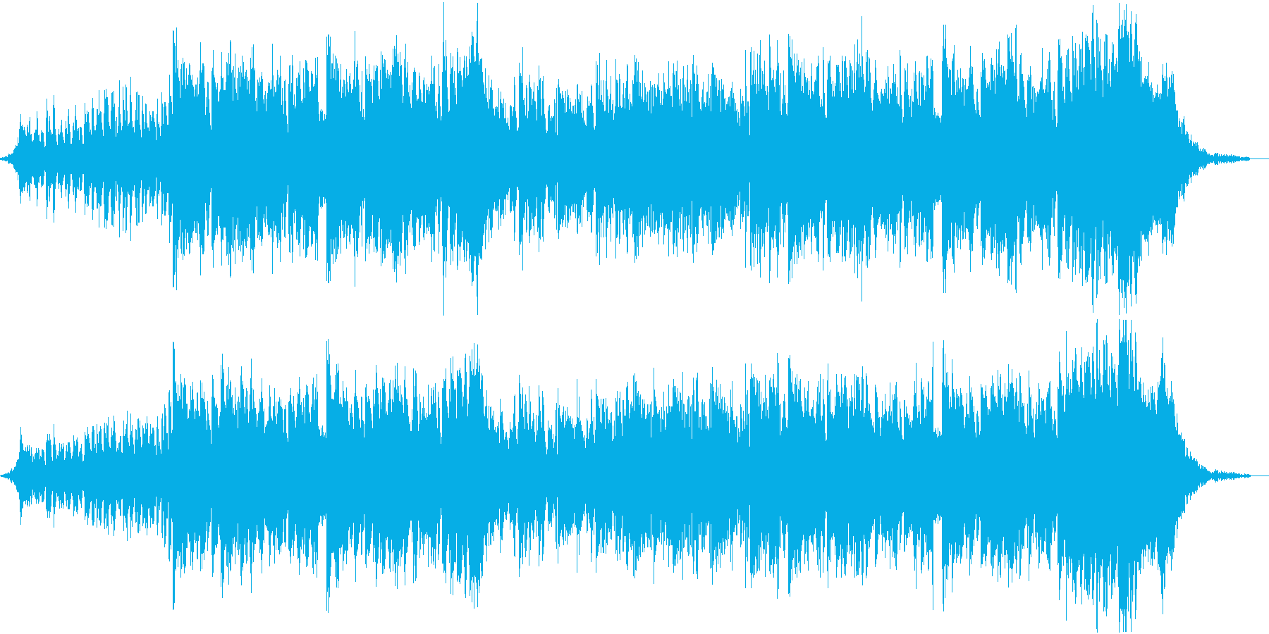 【EDM】格好いい・激しい・近未来の再生済みの波形