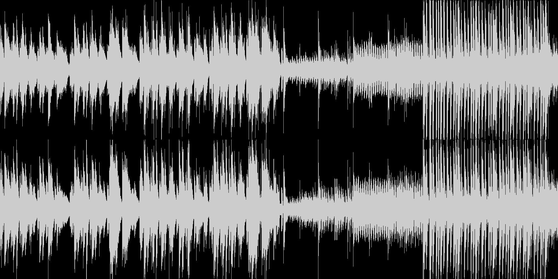 ピアノの優しい曲です。の未再生の波形