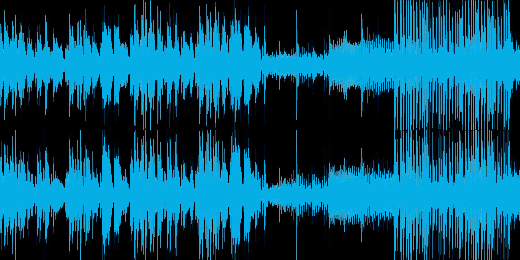 ピアノの優しい曲です。の再生済みの波形