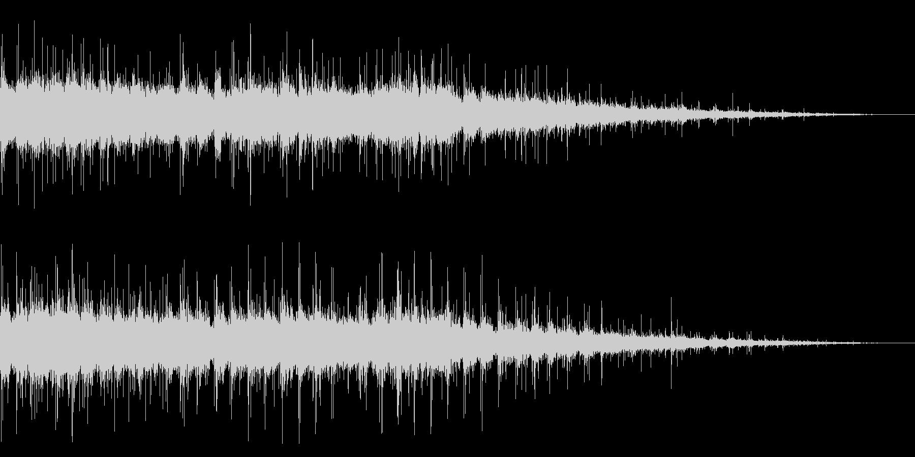 拍手の効果音(中規模/劇場/舞台)08の未再生の波形