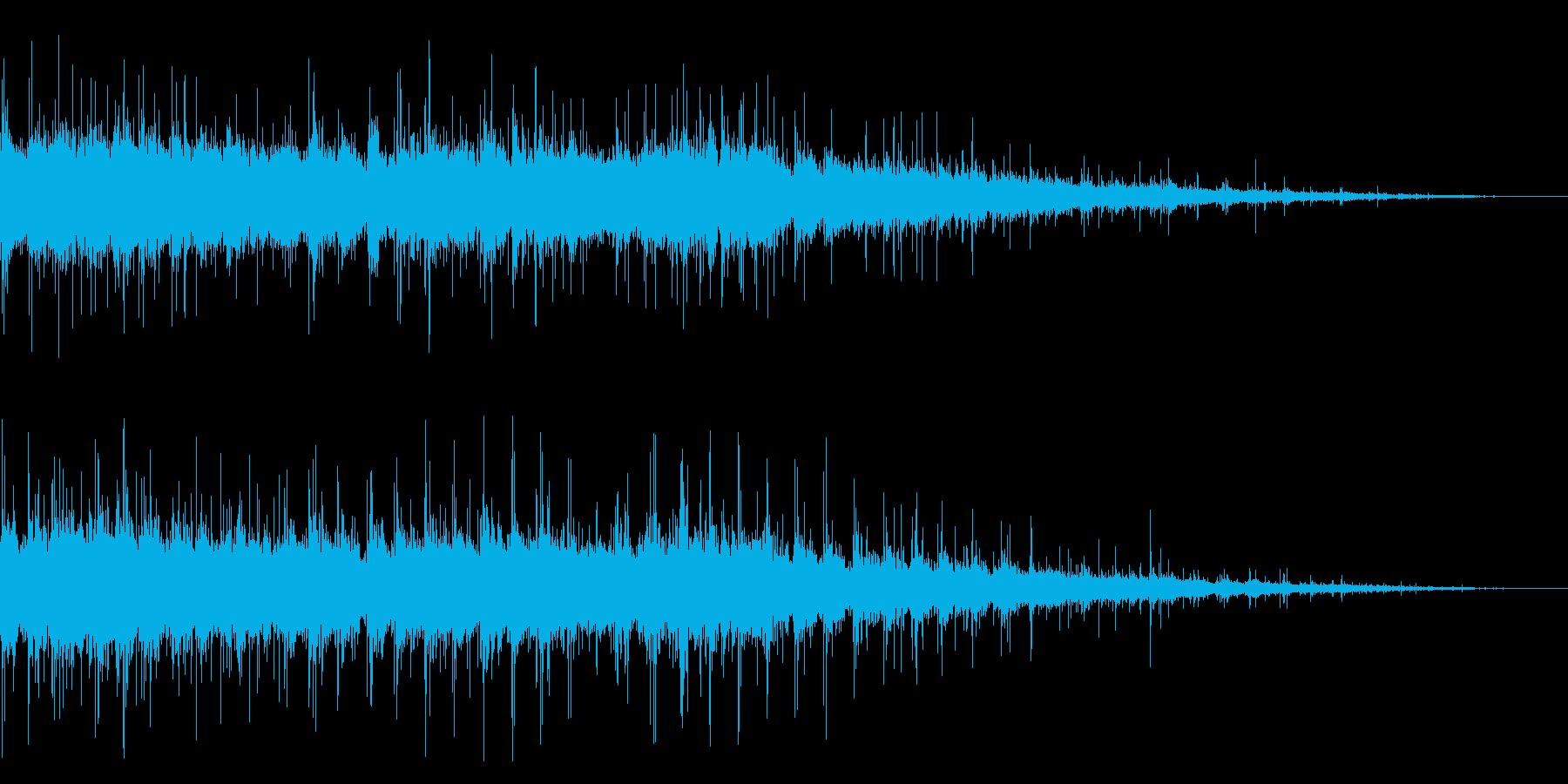 拍手の効果音(中規模/劇場/舞台)08の再生済みの波形