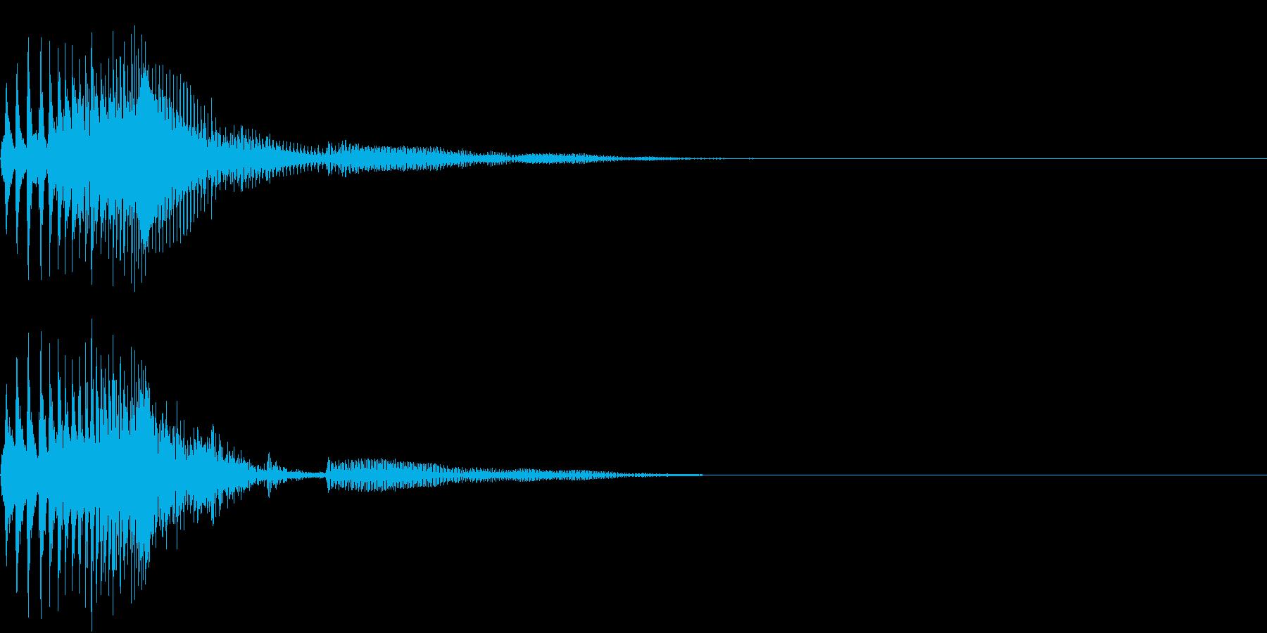 Zako ゲームのザコキャラの鳴き声 3の再生済みの波形