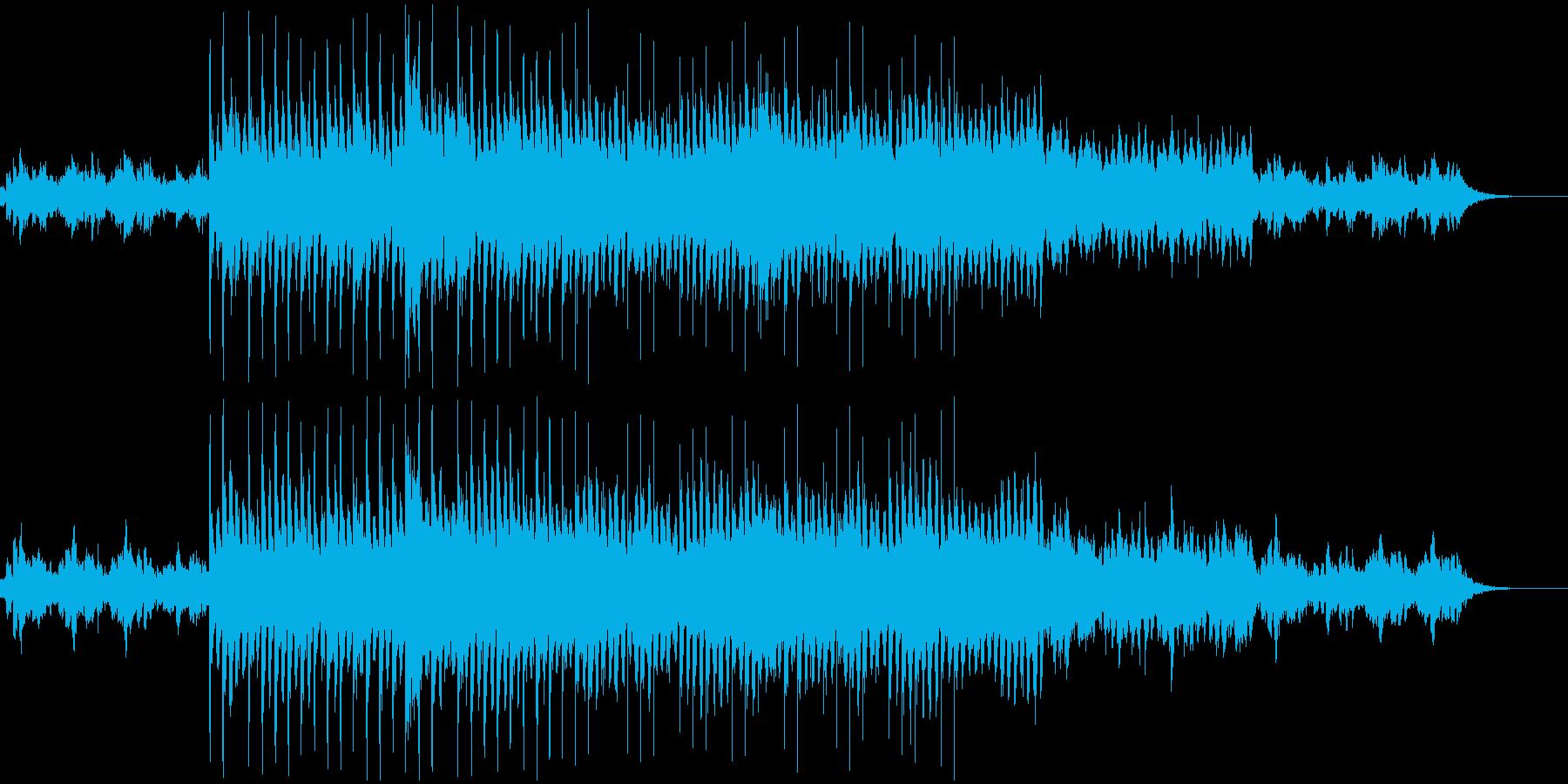 晴れやかに歩くオーケストラBGMの再生済みの波形