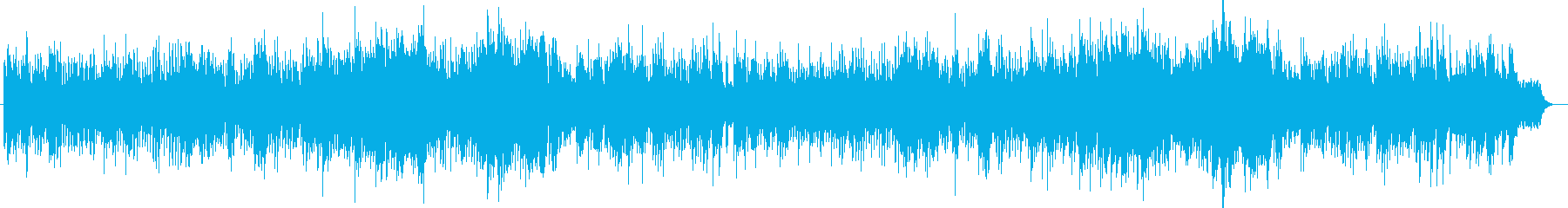 感動的で切ないピアノサウンドの再生済みの波形