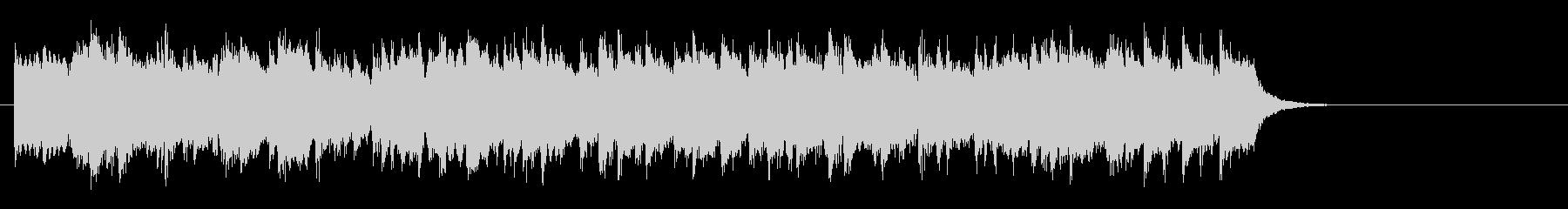 スローなピアノバラード(サビ)の未再生の波形