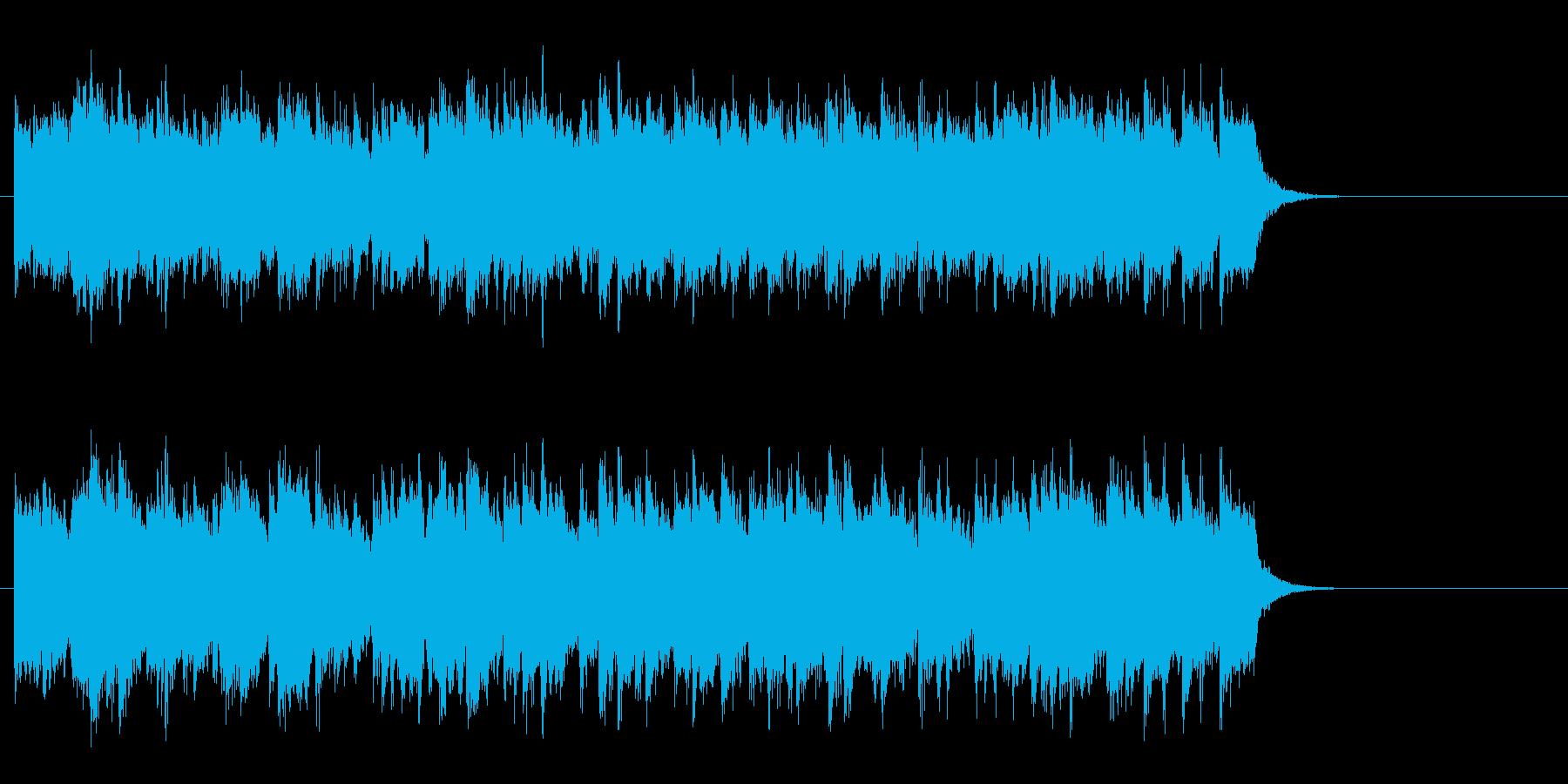 スローなピアノバラード(サビ)の再生済みの波形