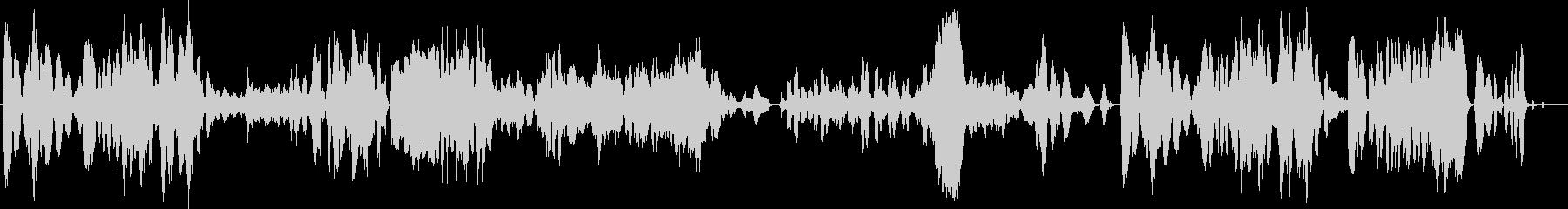 ファンタジーなバイオリンサウンドの未再生の波形
