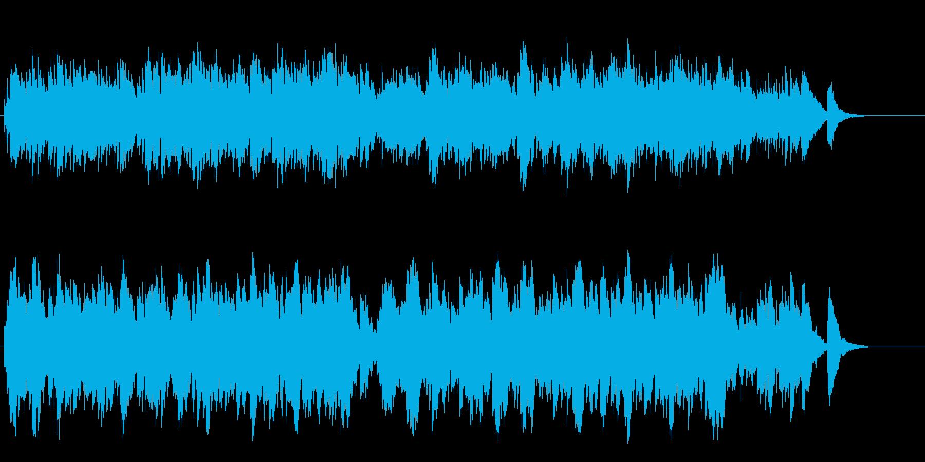 オルゴールの音色が優しいセミクラシックの再生済みの波形