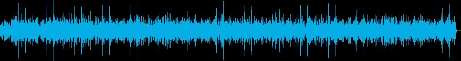 近未来的イメージからFunkyなCM用途の再生済みの波形
