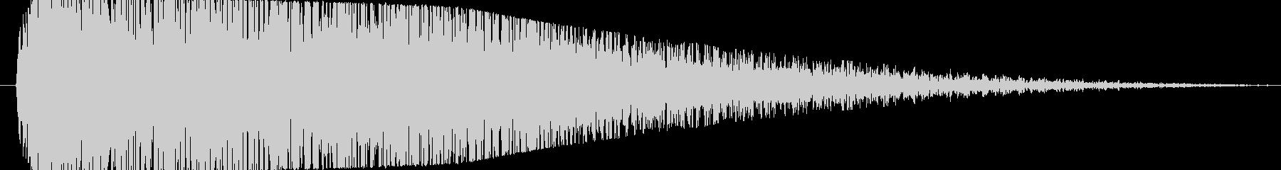 【爆音2(2秒に短縮)】大砲・ダメージ音の未再生の波形