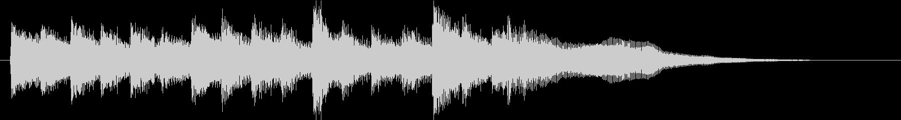 おしらせチャイム(メルヘン)の未再生の波形
