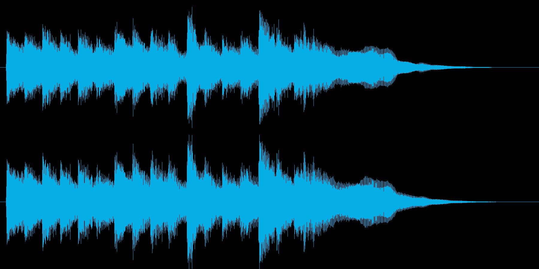 おしらせチャイム(メルヘン)の再生済みの波形