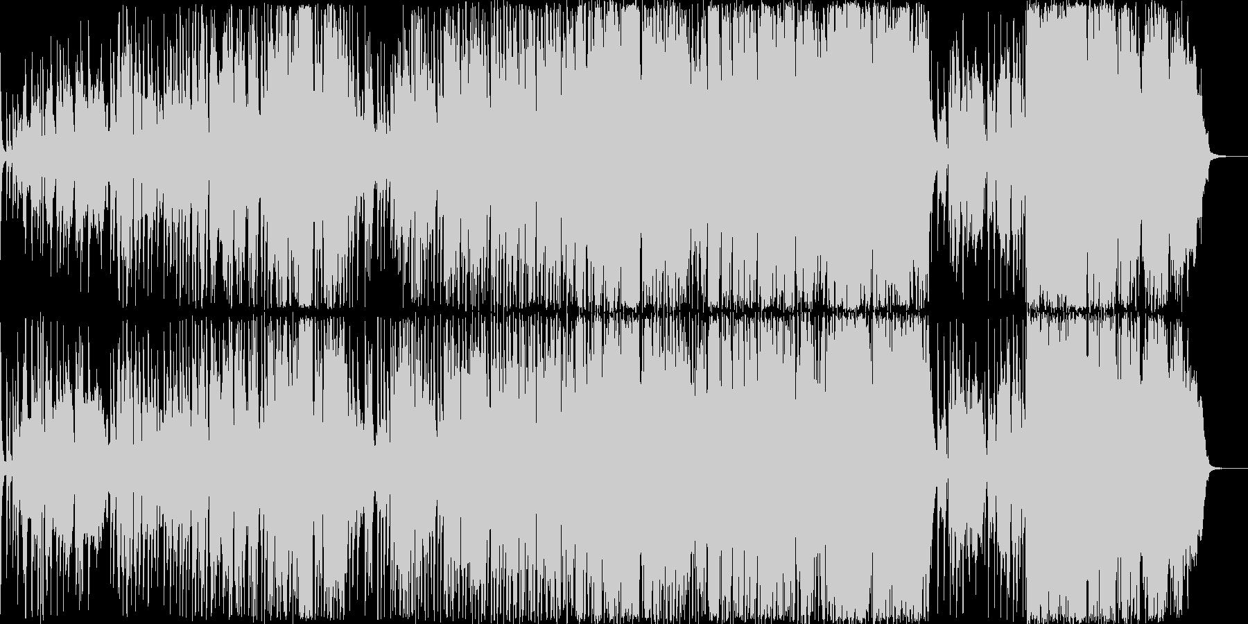 冬を思わせる切ないピアノ系ラブバラードの未再生の波形