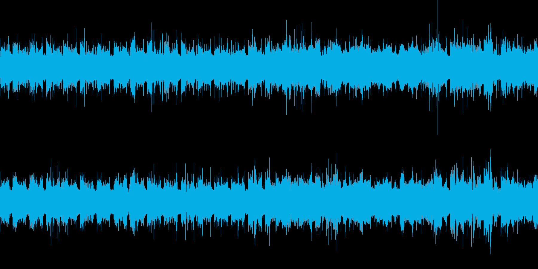 奇妙で不思議に迷い込んでいくようなBGMの再生済みの波形