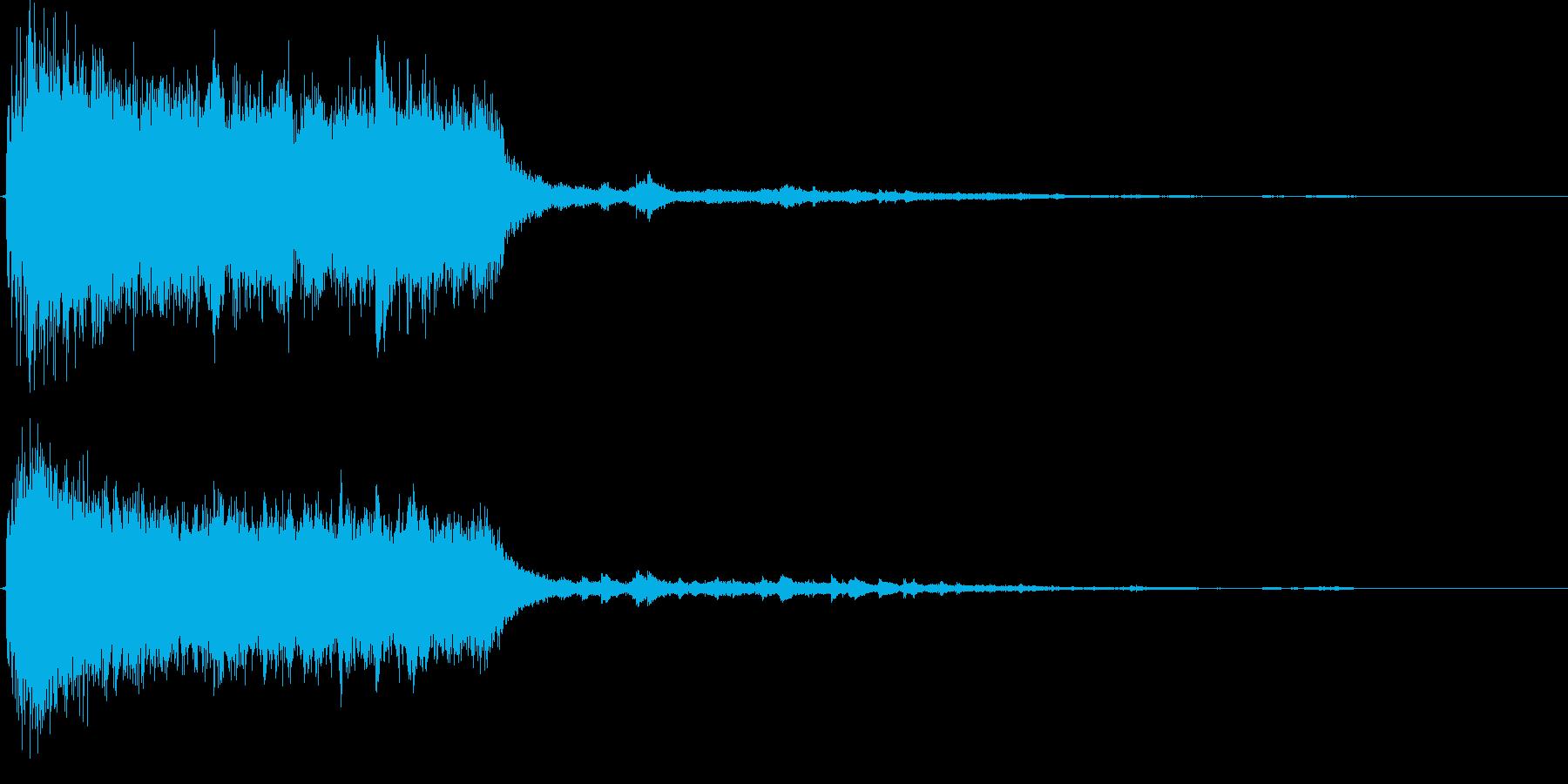 ジャーン・キラリン(正義の登場イメージ)の再生済みの波形