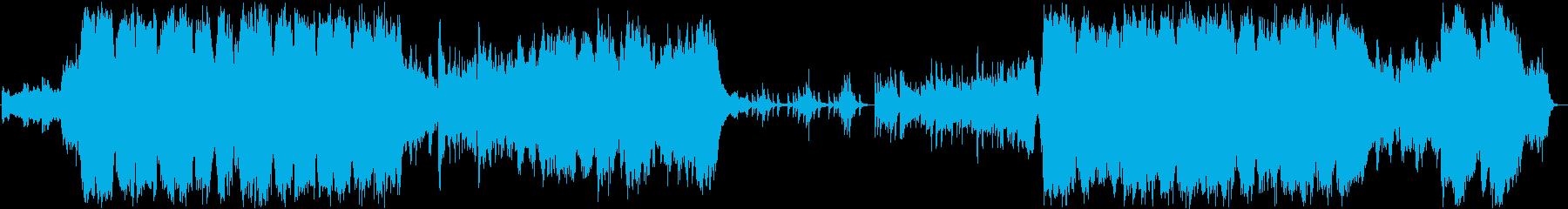 ファンタジー系ゲーム音楽 オープニング の再生済みの波形